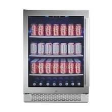 Avallon ABR241SGLH 24 W 152 Can Energy Efficient Beverage Center with LED Lighti