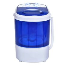 Home Mini Washer Machine Laundry Dorm Condo Washing Clothes Timer Compact Tool