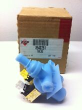 8540751   WP8540751 WHIRLPOOL WASHER INLET VALVE  NEW PART