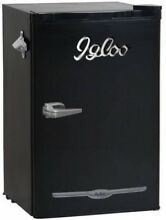 Igloo 3 2 Cu Ft Retro Bar Fridge With Side Bottle Opener  Multiple ColorsIgloo