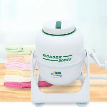 WonderWash Non electric Portable Compact Washing Machine  Hand Crank  5 lb Load