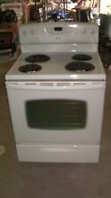 AMANA Coil Top Electric Range Stove Excellent Working
