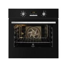 Electrolux Oven Electric Ventilated InfiSpace Quadro FQ73NEV Black