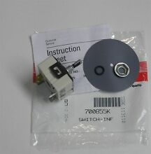 Maytag JennAir 700855K Range Infinite Switch Y700855K NEW OEM