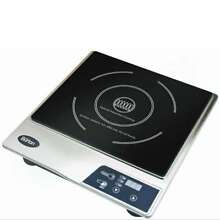 Max Burton Stainless Steel Deluxe Countertop Induction Cooktop Burner  Open Box