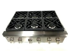 GE Caf  Series CGU366SEH1SS 36  Gas Rangetop 6 Burners Stainless Steel
