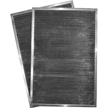 Whirlpool Range Hood Replacement Kitchen Environment Two Pack Charcoal Filter