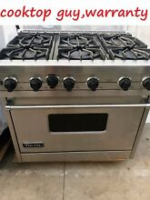Viking 36  Pro Stainless Range 6 burners nat gas   REFURBISHED   in Los Angeles