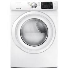 Samsung 7 5 cu ft Stackable Electric Dryer  White    NEW