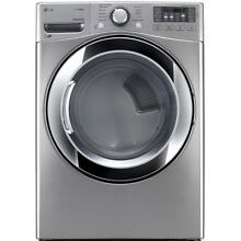 LG 7 4 cu ft Stackable Electric Dryer  Graphite Steel  ENERGY STAR   NEW