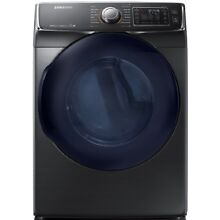 Samsung 7 5 cu ft Stackable Electric Dryer  Black stainless steel  ENERGY STAR