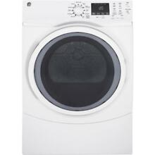 GE 7 5 cu ft Stackable Electric Dryer  White  ENERGY STAR   NEW