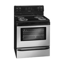 Frigidaire FFEF3015LM 30  Freestanding Electric Range with 4 Coil Burners  Ready