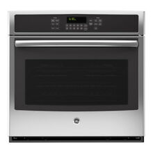 GE Self cleaning True Convection Single Electric Wall Oven  Stainless Steel NEW