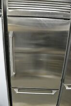 Monogram 36  Stainless Steel Built In Bottom Freezer Refrigerator ZICP360NHRH