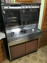 1950s Antique Kenmore stove double oven with pull out cooktop