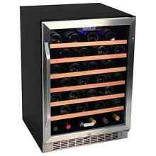 EdgeStar CWR531SZ 24 Inch Wide 53 Bottle Built In Wine Cooler
