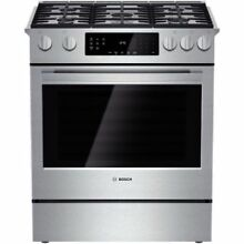 Bosch HGI8054UC 30  4 8 Cu  Ft  Gas Slide In Range with Convection  800 Series