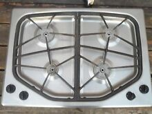 40917   Jenn Air GAS Cooktop JGC8430ADS Stainless Steel Complete