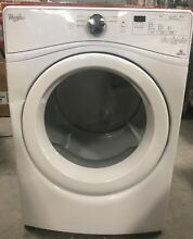 Whirlpool WED75HEFW 7 4 cu ft Front Load Dryer with Advanced Moisture Sensing