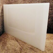 WB36X5793 GE Range White Outer Oven Door Glass