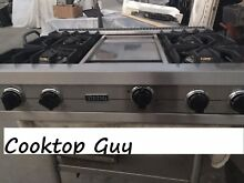 Viking 36  Pro  Stainless Rangetop  4 griddle  PROPANE    in Los Angeles