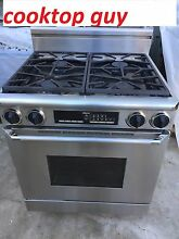 Dacor 30   Stainless Dual Fuel   gas   elec 220 Range  Los Angeles
