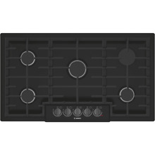 Bosch NGM8646UC 800 Series 36 Inch Wide Built In Gas Cooktop with 5 Sealed Burne