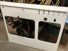 VINTAGE STOVE PARTS Chambers Antique Gas Range FRONT WHITE PANEL ONLY