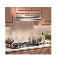 Electric Range Hood Gas Ductless Charcoal Filter Undercabinet Kitchen Oven Stain