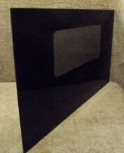 322093 Kenmore Wall Oven Black Outer Oven Door Glass