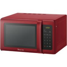 Magic Chef  9 Cubic ft Countertop Microwave  red