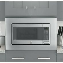 GE JX9153SJSS  Stainless Steel 30  Built In Microwave Oven Trim Kit