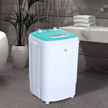 Compact Mini Washing Machine Portable Electric Laundry Washer Spin Dorm 8 4lbs