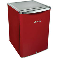 Danby 2 6 cft All Refrigerator in Metallic Red
