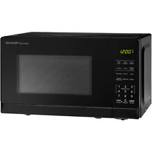 Sharp ZSMC0710BB  7 Cu Ft Microwave  Black