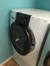 Kenmore Elite front load washer on pedestal base  Needs repair  White