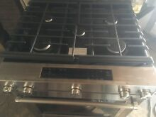 Kitchen Aid Stainless Steel Slide In Gas Range Self Cleaning Oven