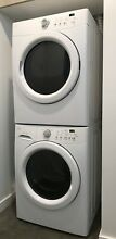 Kenmore Compact Front Loading Stacking Washer   GasDryer