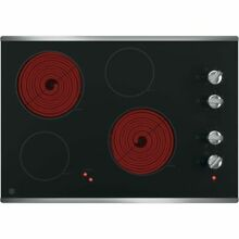 GE jp3030sjss Smoothtop Electic Cooktop SS