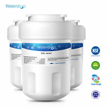 Fits GE MWF SmartWater MWFP GWF GWFA Kenmore 46 9991 Refrigerator Water Filter
