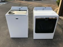 Maytag Bravo XL Washer and Dryer combo used only a few times