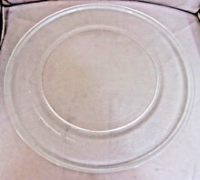 GE Microwave 15 5  Glass Turntable Plate Tray w  Roller Guide Assembly