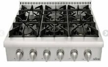 Thor kitchen 36  Stainless steel Pro Style Gas Rangetop with 6 Sealed Burners