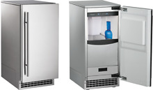 Scotsman Brilliance 15  Nugget Sonic Ice Maker with Pump   SCN60PA1SS