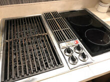 Jenn Air Electric Cook top works great cooktop built in griddle