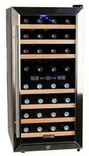Koldfront TWR327E 16 Inch Wide 32 Bottle Wine Cooler With Dual Cooling Zones