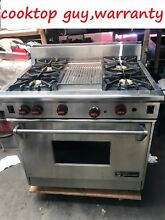 36  Wolf  Pro Stainless Gas Range 4   grill burners  REFURBISHED  in Los Angeles