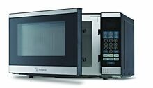 Westinghouse WCM770SS 700 Watt Counter Top Microwave Oven  0 7Cubic Feet  Steel