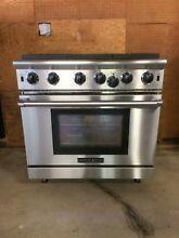 American Range 36  6 Burner Professional Quality Stainless Steel Gas Stove